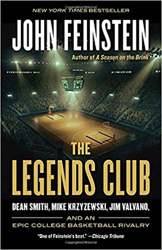 THE LEGENDS CLUB Book DEAN SMITH and 10 NORTH CAROLINA Tar Heels UNC Trading Cards