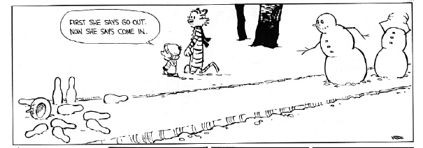 calvin cartoon